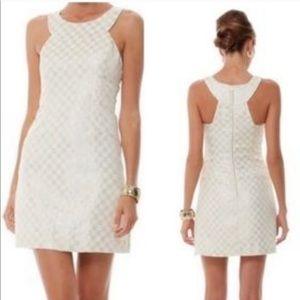 Lilly Pulitzer Jacquard square Jepson dress-2